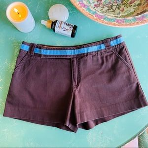 Tory Burch x Bergdorf Goodman Cotton Shorts